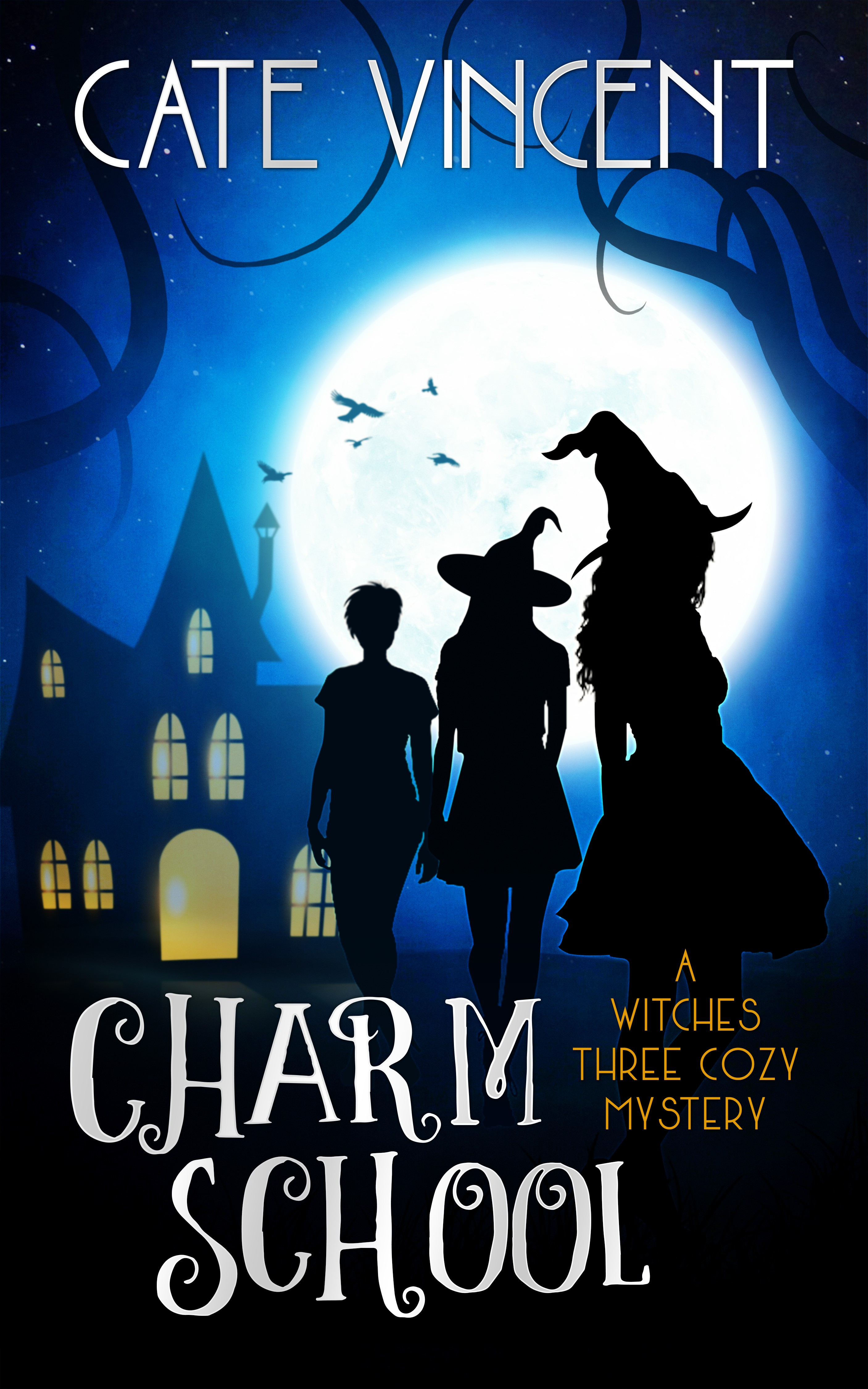 A witchy cozy mystery novel needs an attention-grabbing cover