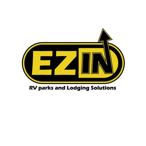 """""""EZ IN"""" Logo ( pronounced  """"Easy In"""") - RV parks and Lodging Solutions"""