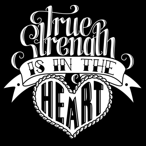 Tattoo inspired print for t-shirt