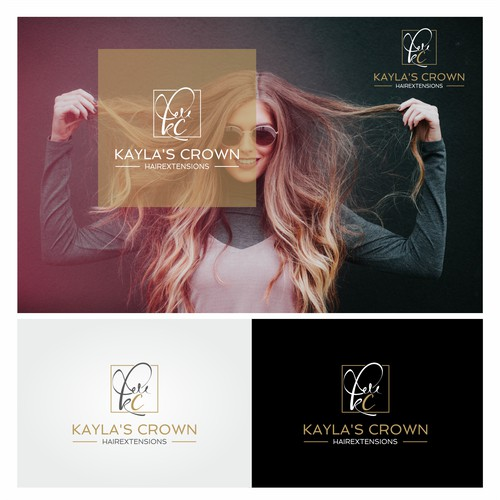 Logo about Hair extensions and supplies