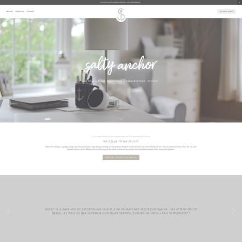 A Modern Studio Website