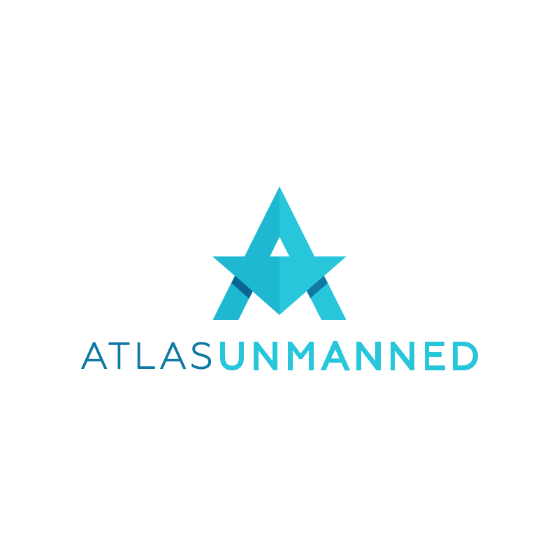Design a modern logo and website for exciting new drone startup, Atlas Unmanned