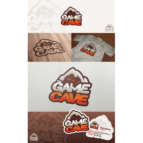 Create the next logo for The Game Cave