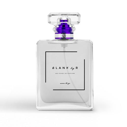 Simple, elegant branding for a new perfume line