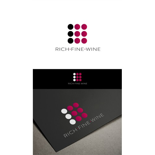 Create a dynamic, modern and trustworthy logo for a new global wine business