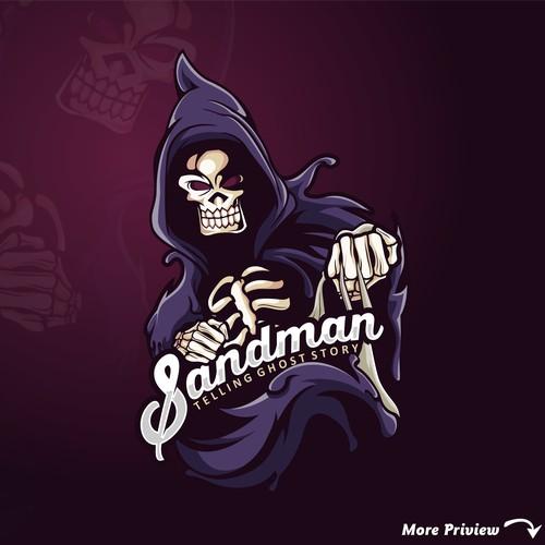 Sandman gost storry Logo
