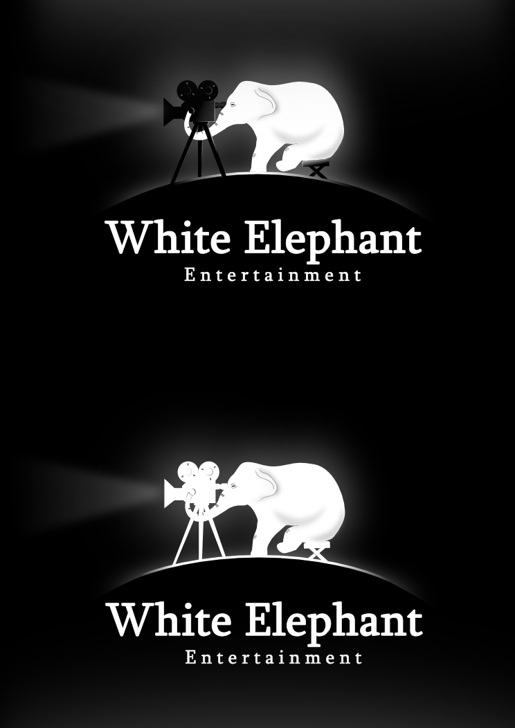 Help White Elephant Entertainment with a new logo and business card
