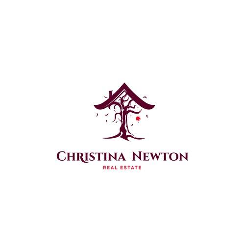 LOGO CONCEPT FOR CHRISTINA NEWTON