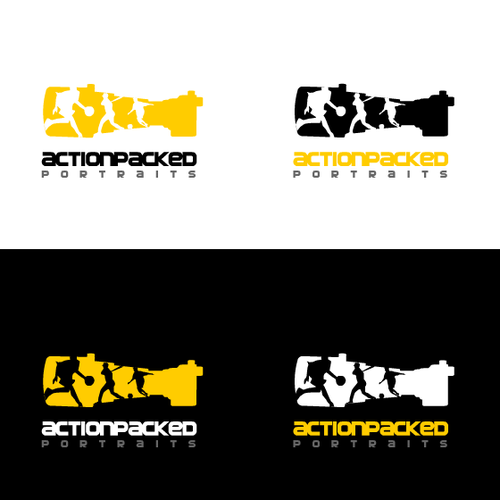 logo for sports photographer