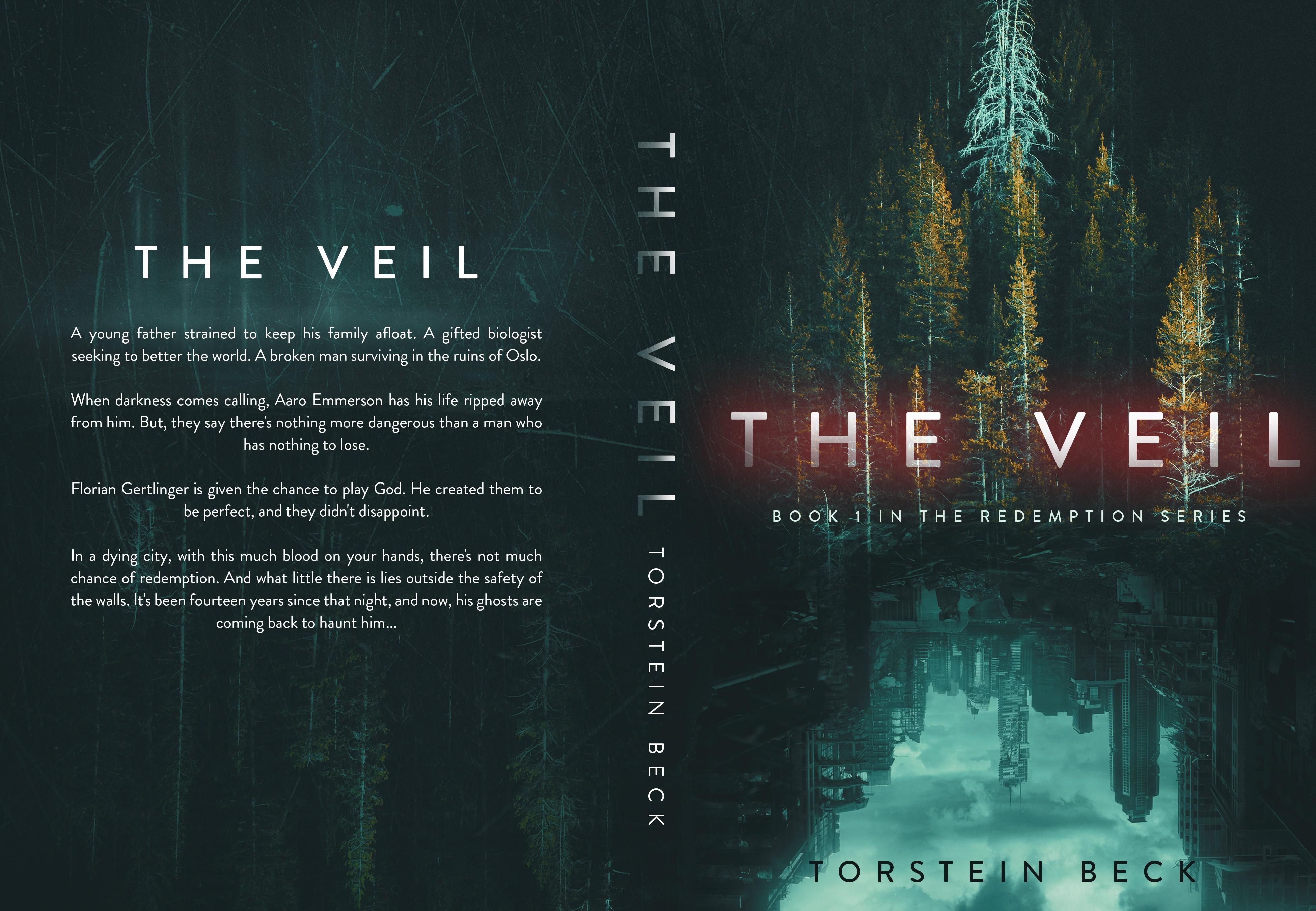 Design a book cover for a dystopian bio-punk sci-fi thriller