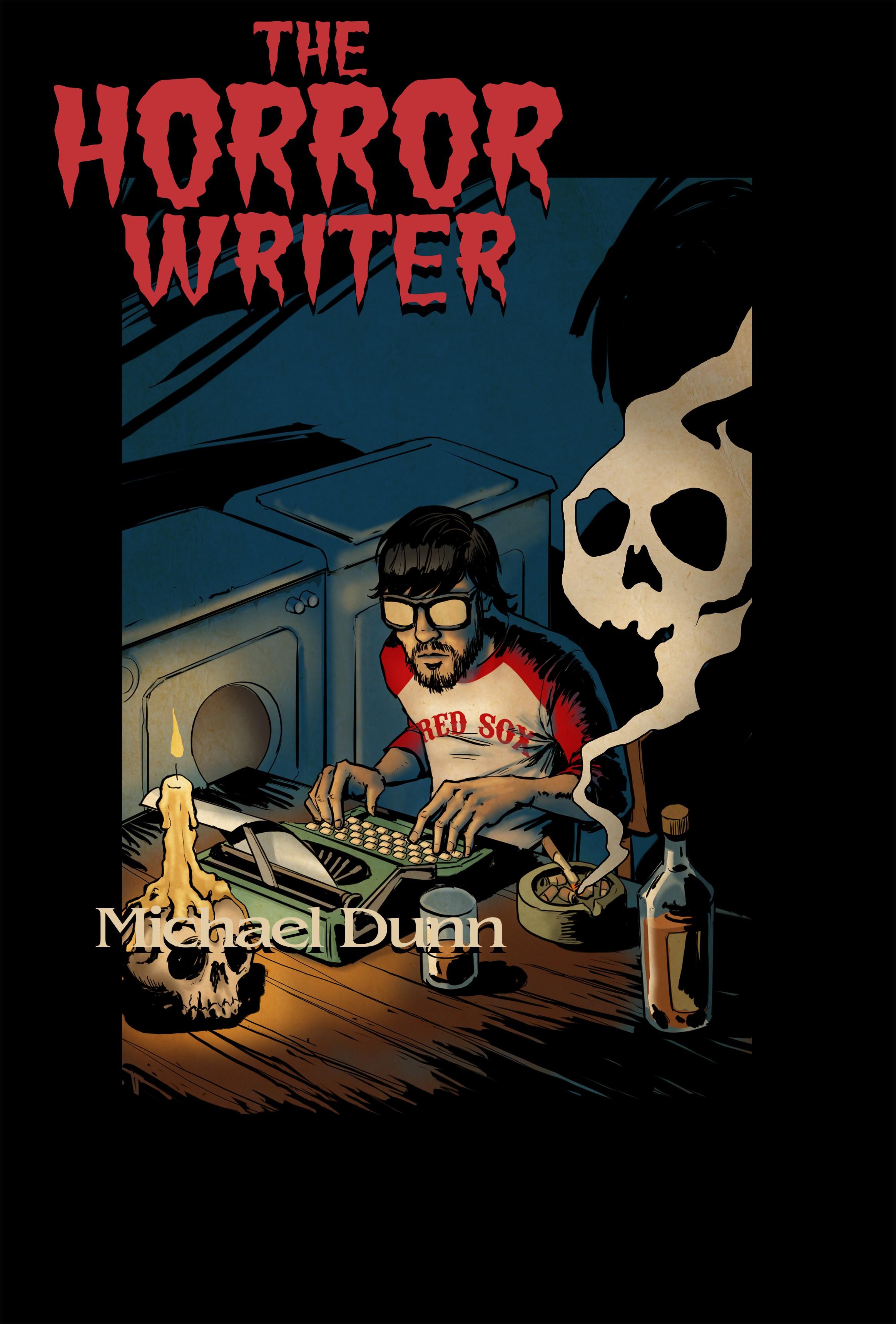 The Horror Writer novel cover