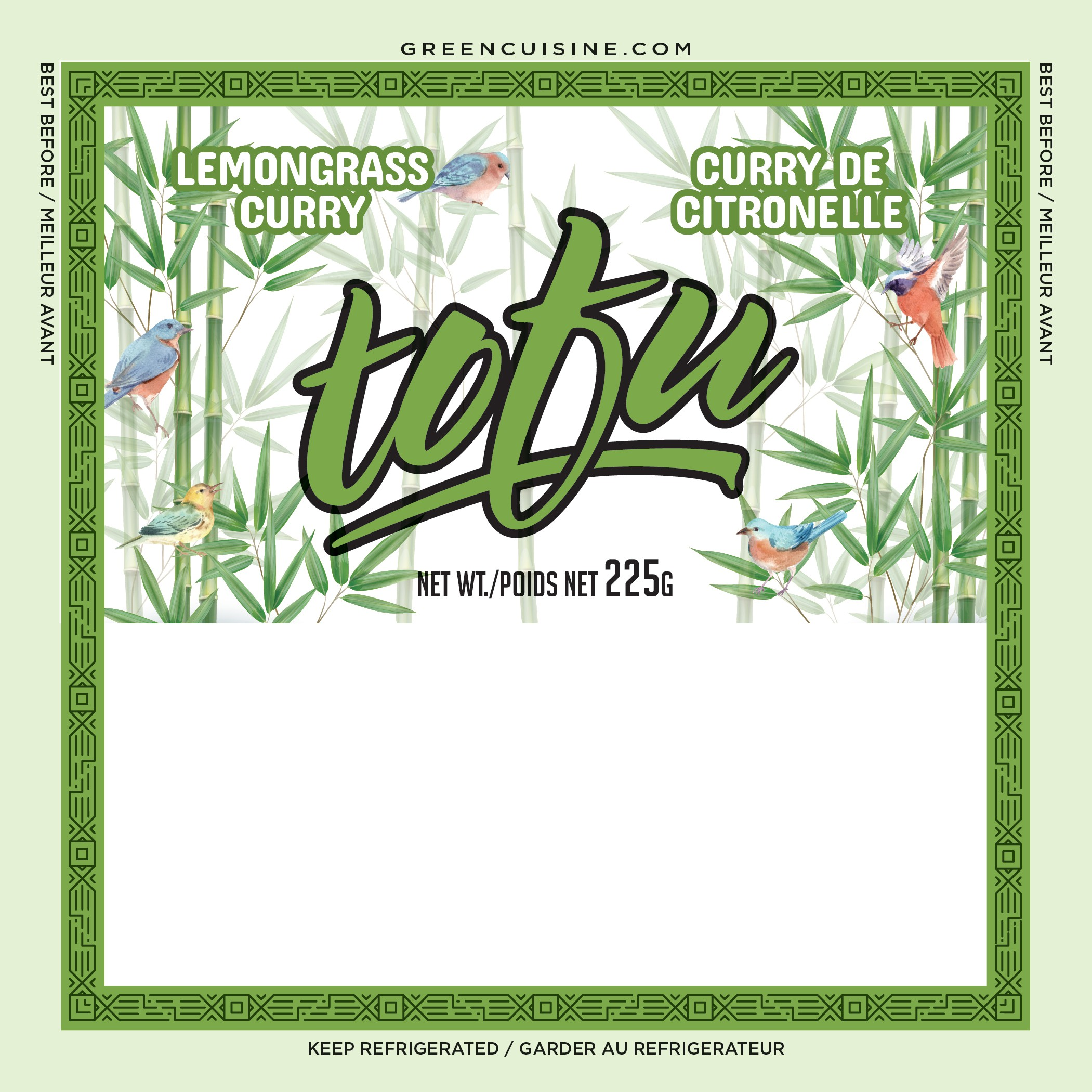 TOFU - Labels for 3 products