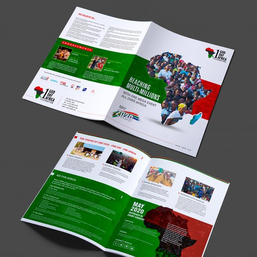 1GDA needs a 4 page high-end image brochure