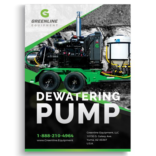 Dewatering Pump Flayer for Greenline Equipment
