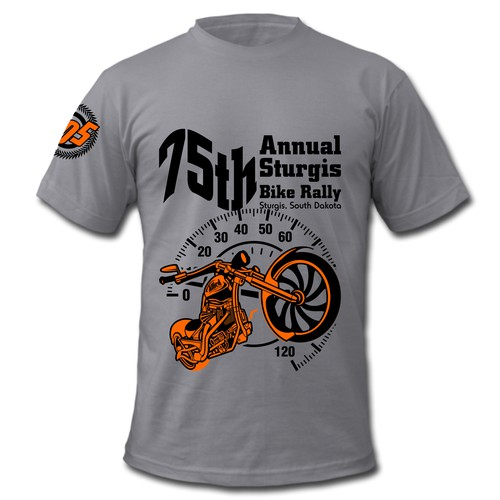 75th Annual Sturgis Bike Rally T-Shirt