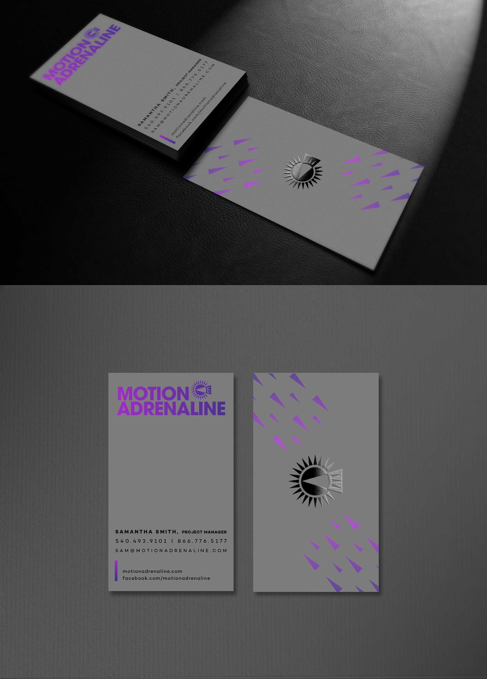 New business card design.
