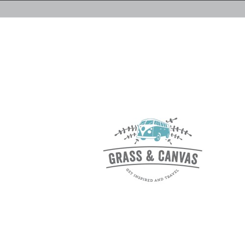 Concept of logo for a Girly Backpackers
