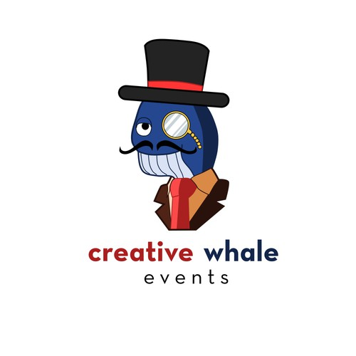 Logo for Creative Whale Events