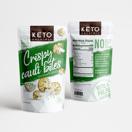 keto package design