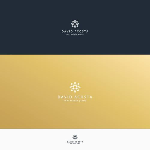 Logo design for David Acosta Real Estate Group