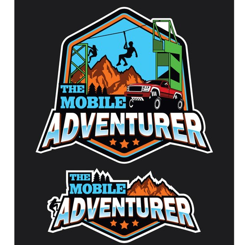 Logo for mobile adventure game
