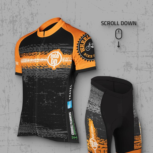 Cycle Jersey and Shorts for Trailer Park Racing
