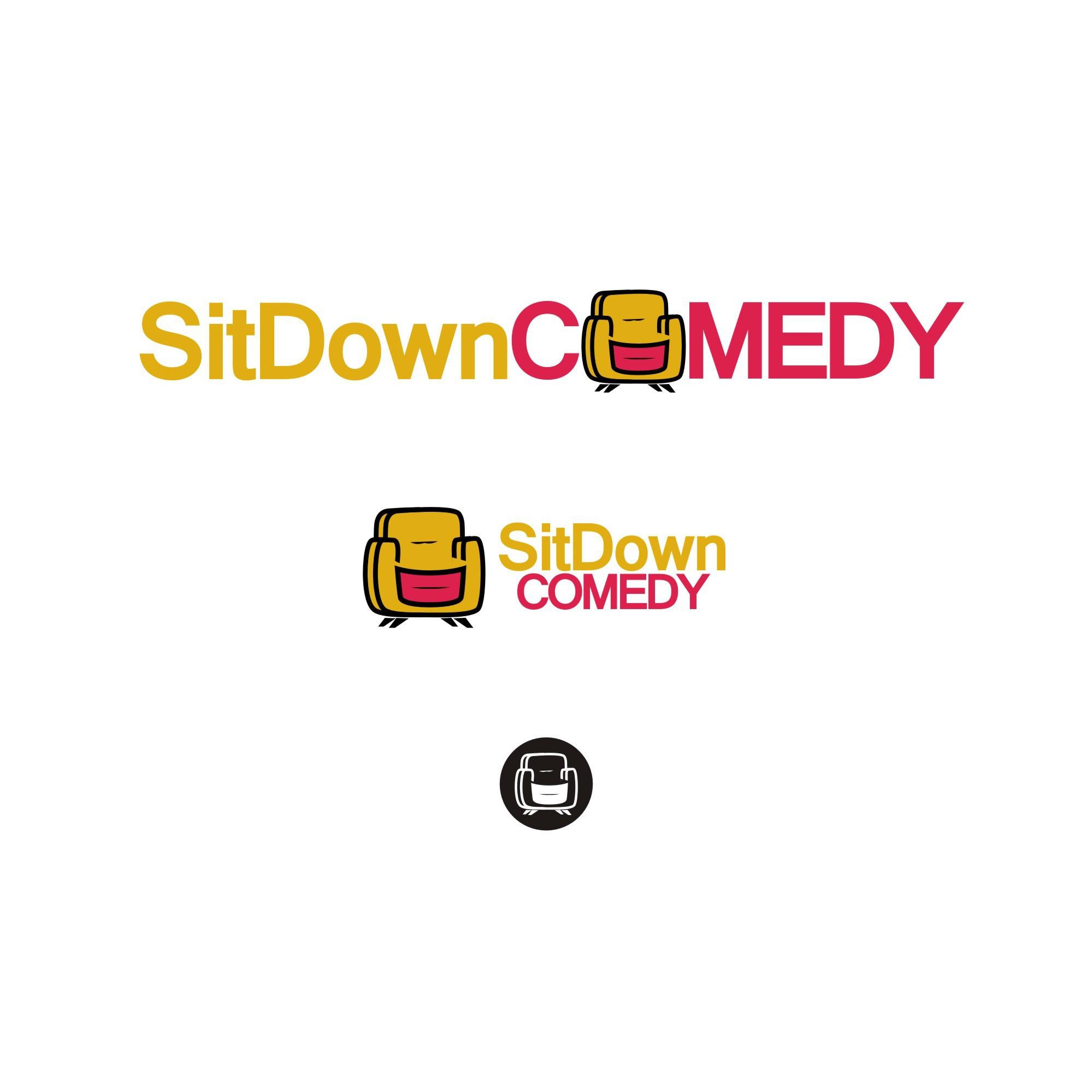 Sit down comedy/sit down logo!