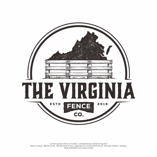 Logo Design for The Virginia Fence Co.