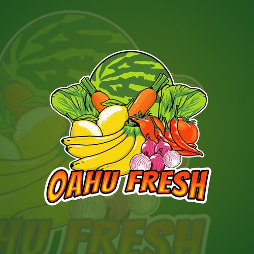 Oahu Fresh logo - Vegie Store