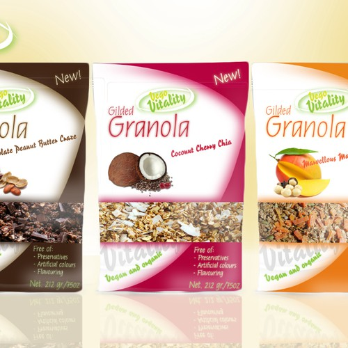 New product label wanted for Vego Vitality