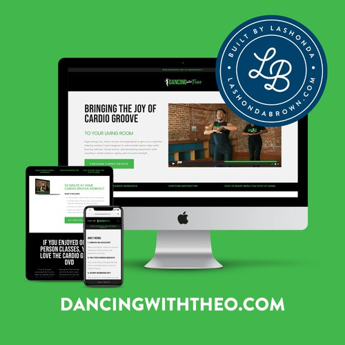 DANCING WITH THEO | Fitness Instructor