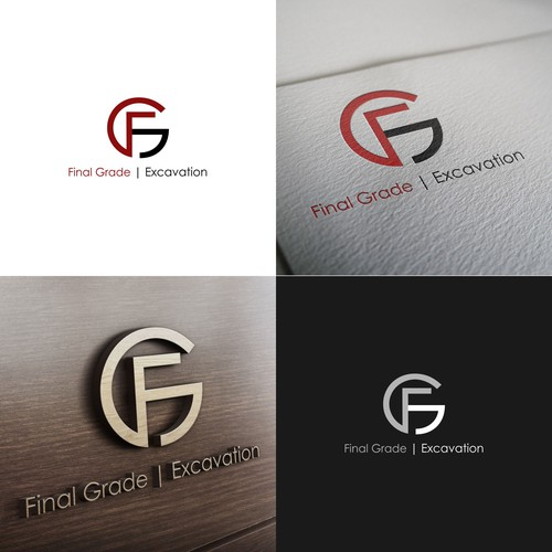 Conceito para Logotipo FGExcavation
