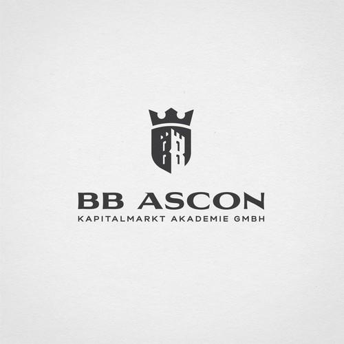 Striking logo for capital market academy