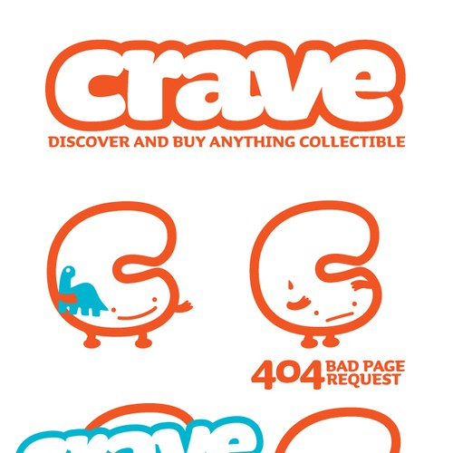 Logo for crave.com