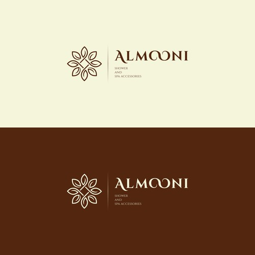 Luxury logo concept for ALMOONI