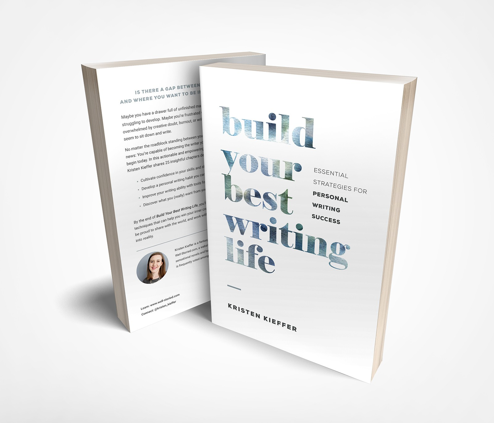 Full print cover (soft cover) for Build Your Best Writing Life