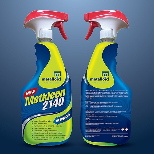 Creative Label for a Multi Purpose Cleaner