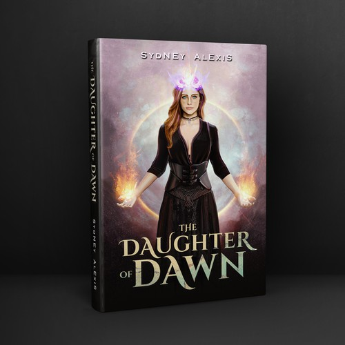 Book cover for THE DAUGHTER OF DAWN