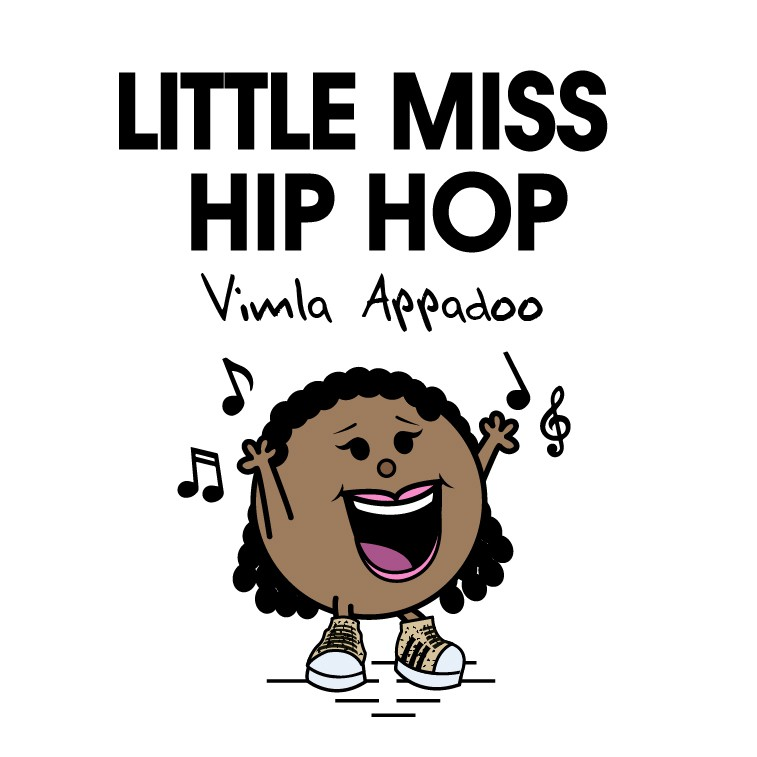 Create a 'Little Miss Hip Hop' character for a great person's birthday!