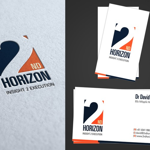 2nd Horizon Pty Ltd needs a new logo and business card