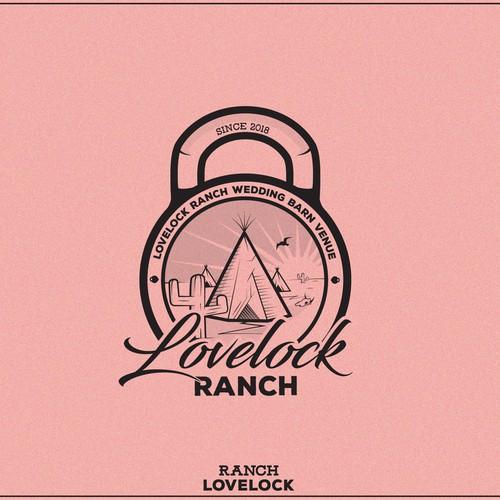 Western Logo for Lovelock Ranch!