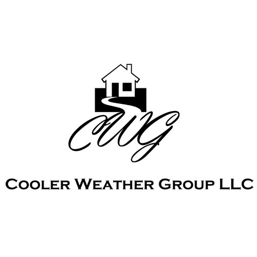 Create the next logo and business card for Cooler Weather Group LLC