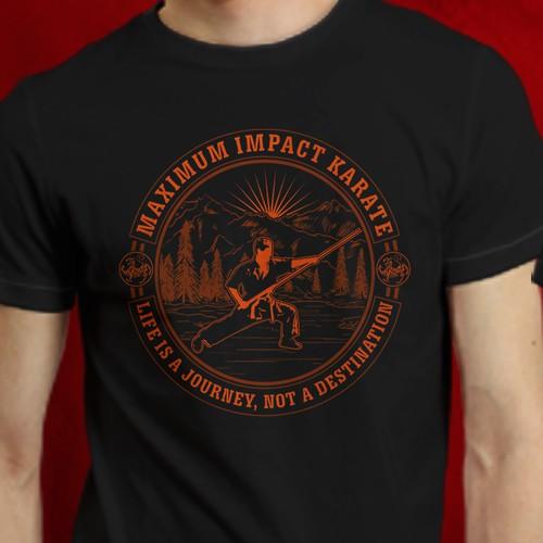 T Shirt Designs for Maximum Impact Karate