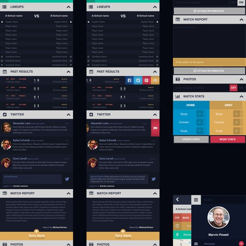 App Design for discontinued project!
