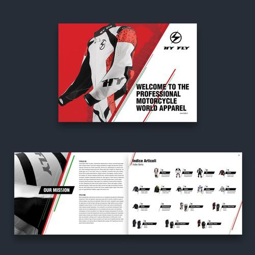 Brochure Design for Biking Gears