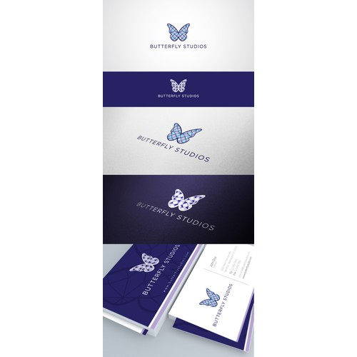 Create a butterfly logo for a movie studio!