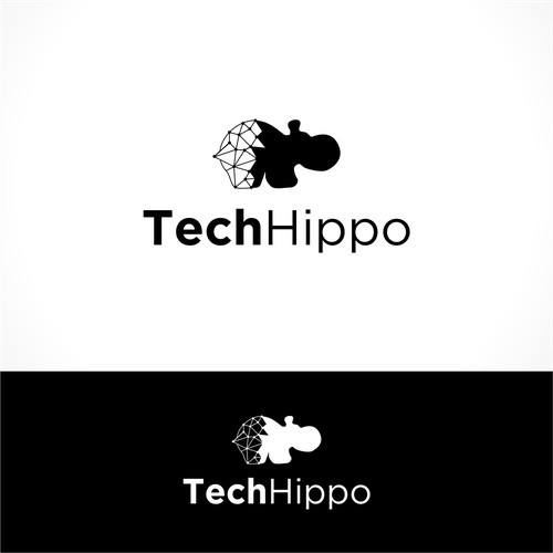 Logo Concept for Tech Hippo