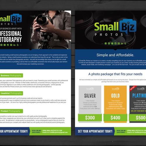 Brochure for SmallBiz