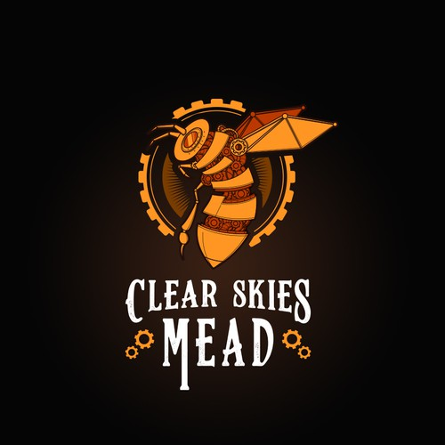 Logo Concept for Clear Skies Mead