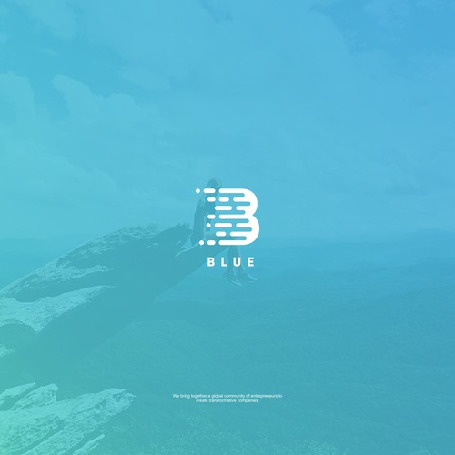 Abstract - Letter B